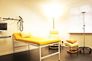 Praxis Gallwitz für Ernährungsmedizin, moderne Einrichtung