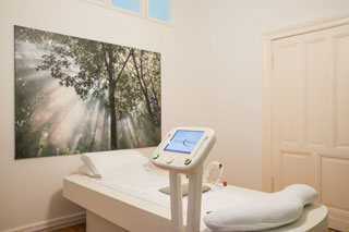 Praxis Gallwitz für Ernährungsmedizin, Theraklinik Behandlungsraum